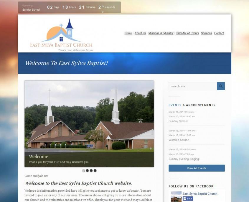 East Sylva Baptist Church - Home Web Page