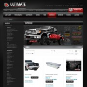 Ultimate Truck Accessories - Exterior Web Page