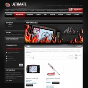 Ultimate Truck Accessories – Performance Web Page