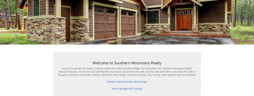 Southern Mountains Realty - Developed by SiteDart Studio